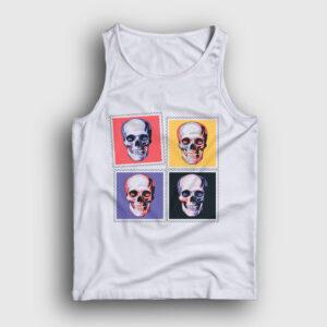 Four Skulls Atlet beyaz