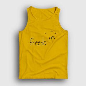 Freedom Kuşlar Atlet sarı