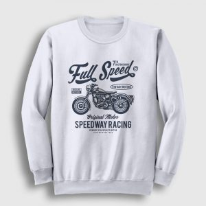 Full Speed Sweatshirt beyaz