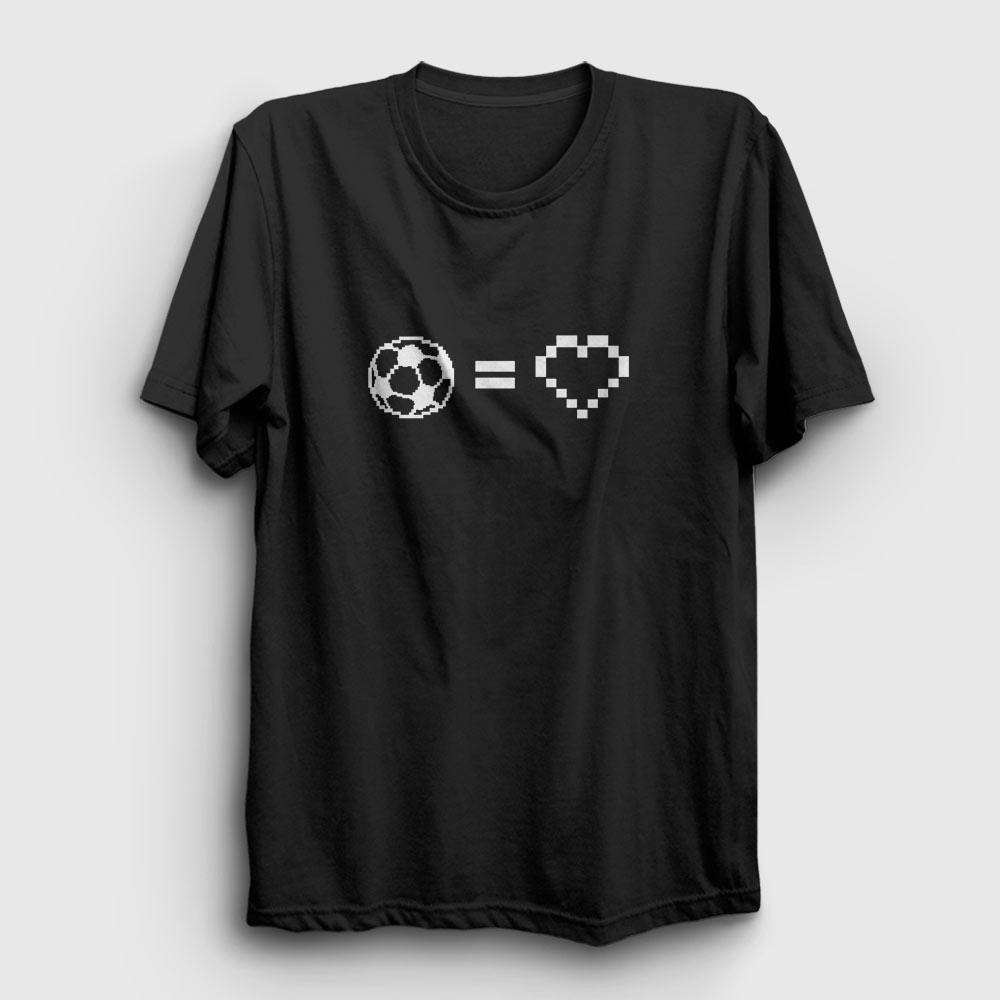 futbol aşkı tişört beyaz