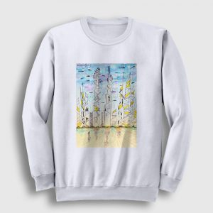 Future Sweatshirt beyaz
