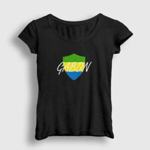 Gabon Kadın Tişört siyah