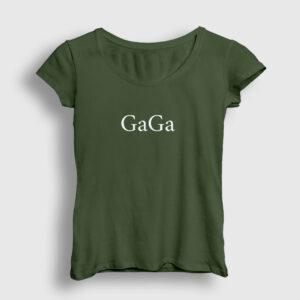 Gaga Kadın Tişört haki