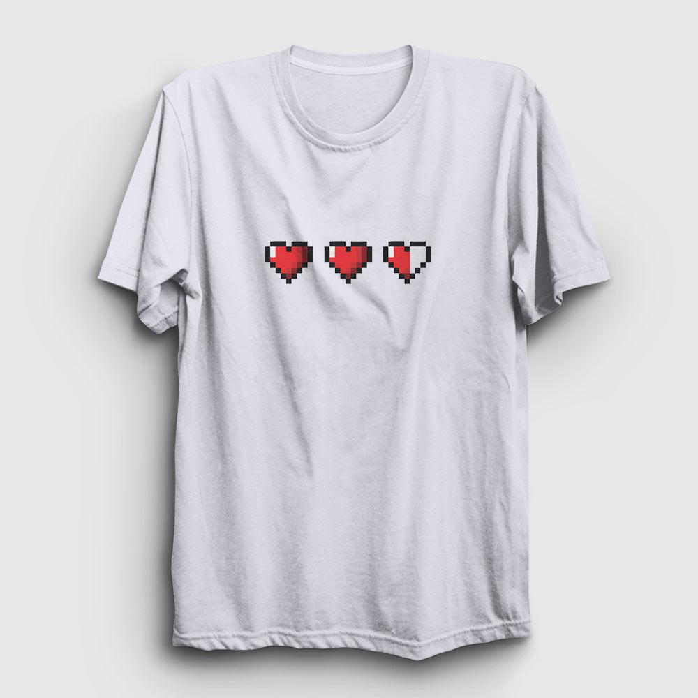 gaming tişört canlar beyaz