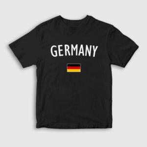Germany Çocuk Tişört siyah