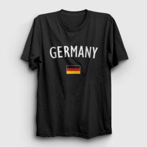 Germany Tişört siyah