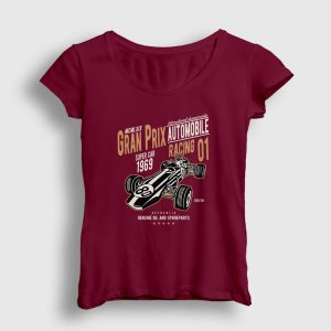 Gran Prix Kadın Tişört bordo