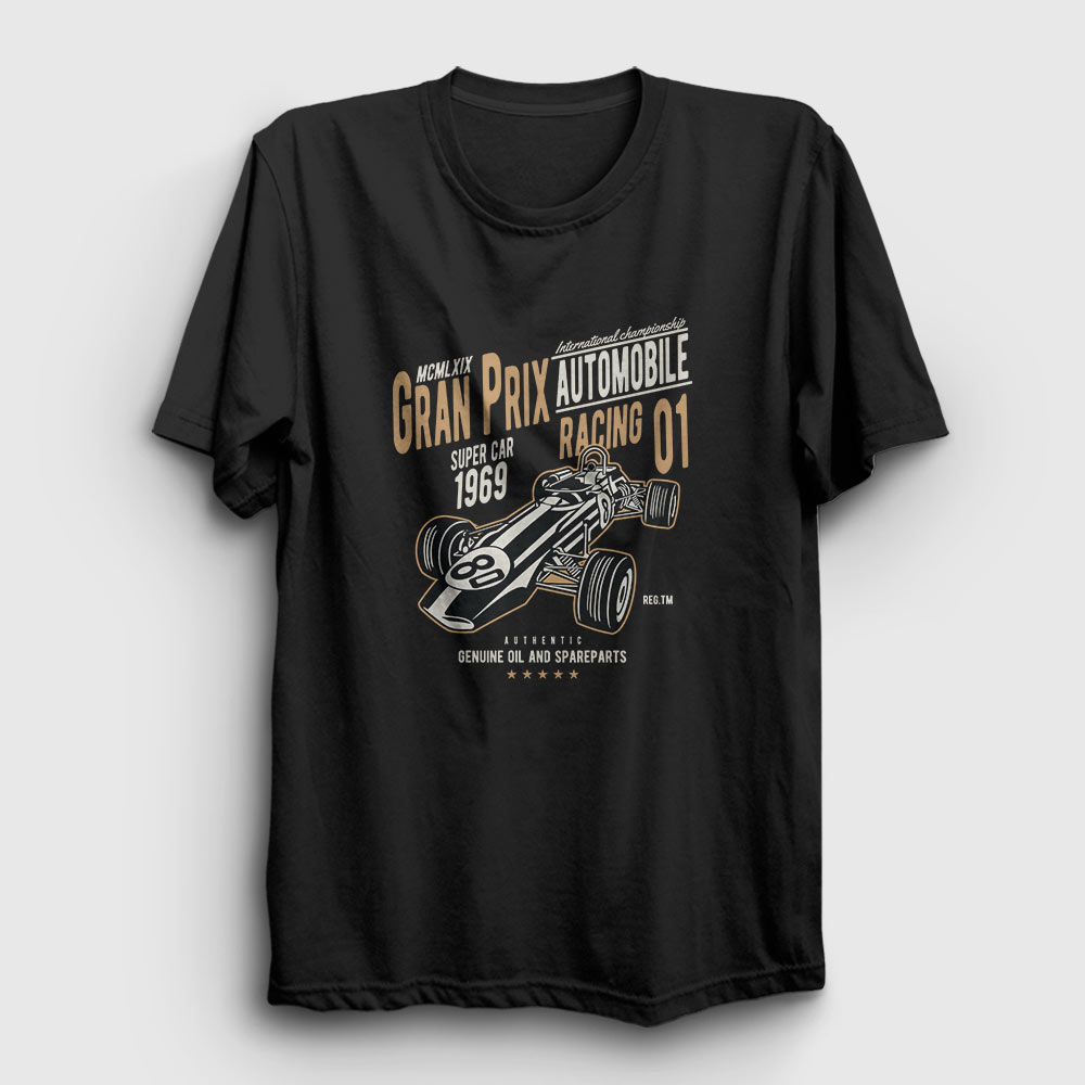 Gran Prix Tişört siyah