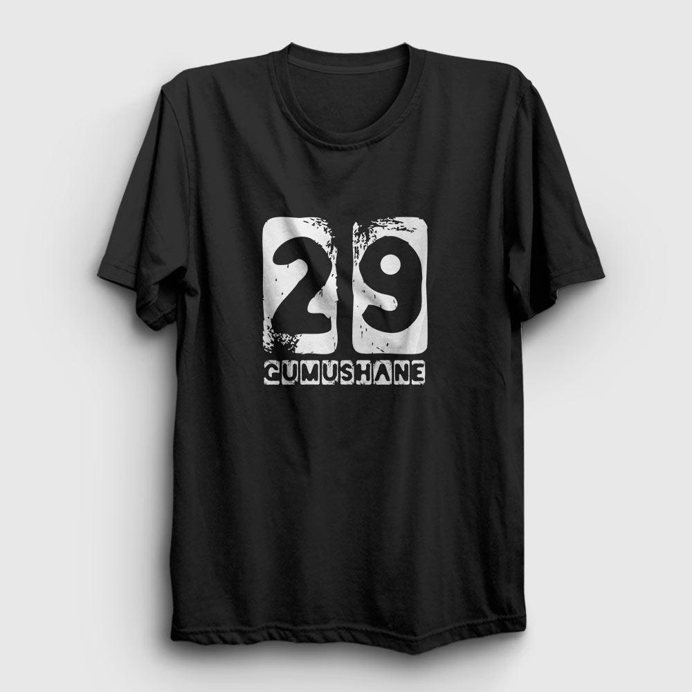 gümüşhane tişört 29 siyah