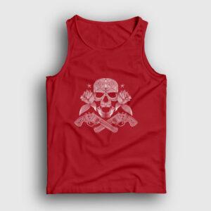 Guns and Roses Atlet kırmızı