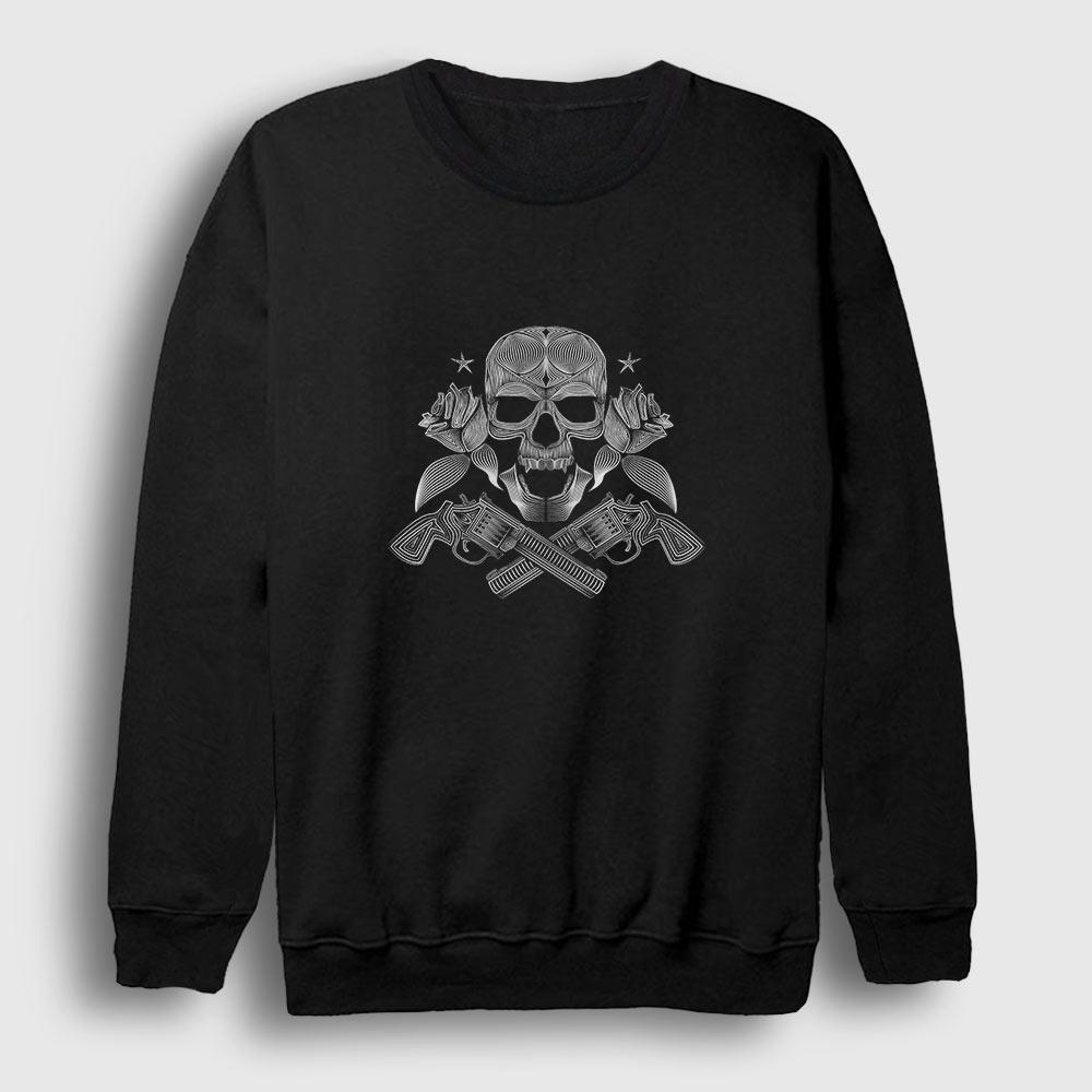Guns and Roses Sweatshirt siyah