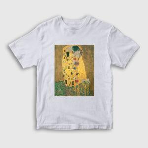 Gustav Klimt Çocuk Tişört beyaz
