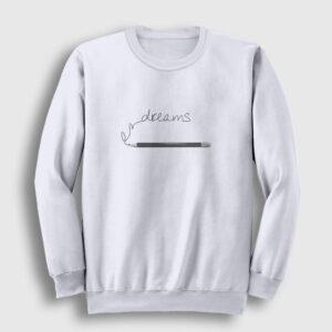 Hayaller Sweatshirt beyaz