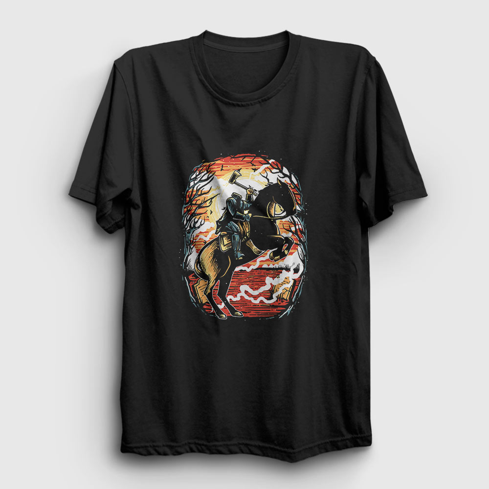 Headless Horseman Tişört siyah