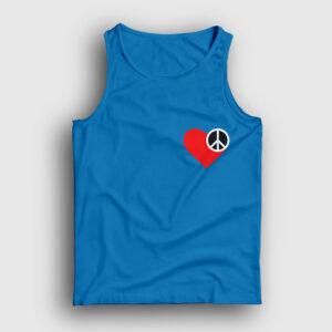 Heart and Peace Atlet açık mavi