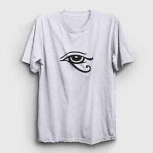 Horusun Gözü Tişört beyaz