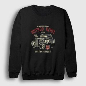 Hotrod Rebel Sweatshirt siyah