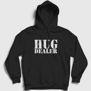 Hug Dealer Kapşonlu Sweatshirt siyah