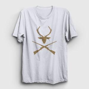 Hunter Tişört beyaz