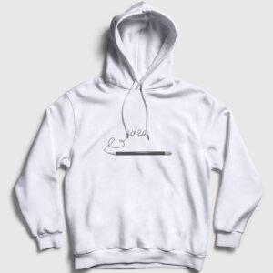 idea Kapşonlu Sweatshirt beyaz