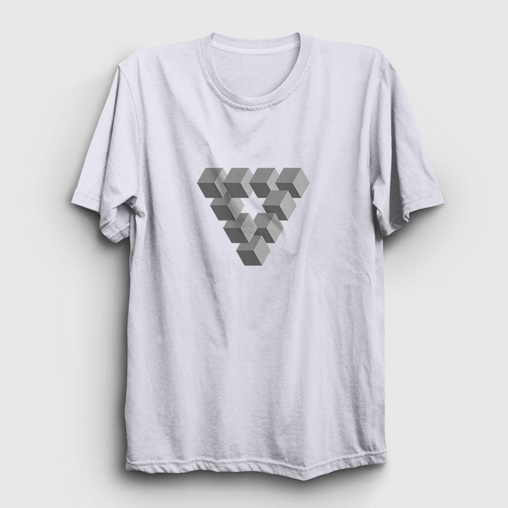 ilizyon tişört beyaz