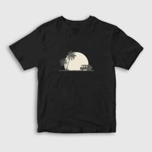 Into The Wild Çocuk Tişört siyah