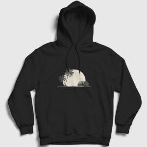Into The Wild Kapşonlu Sweatshirt siyah