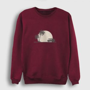 Into The Wild Sweatshirt bordo