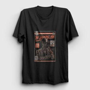 Invisible Man Tişört siyah