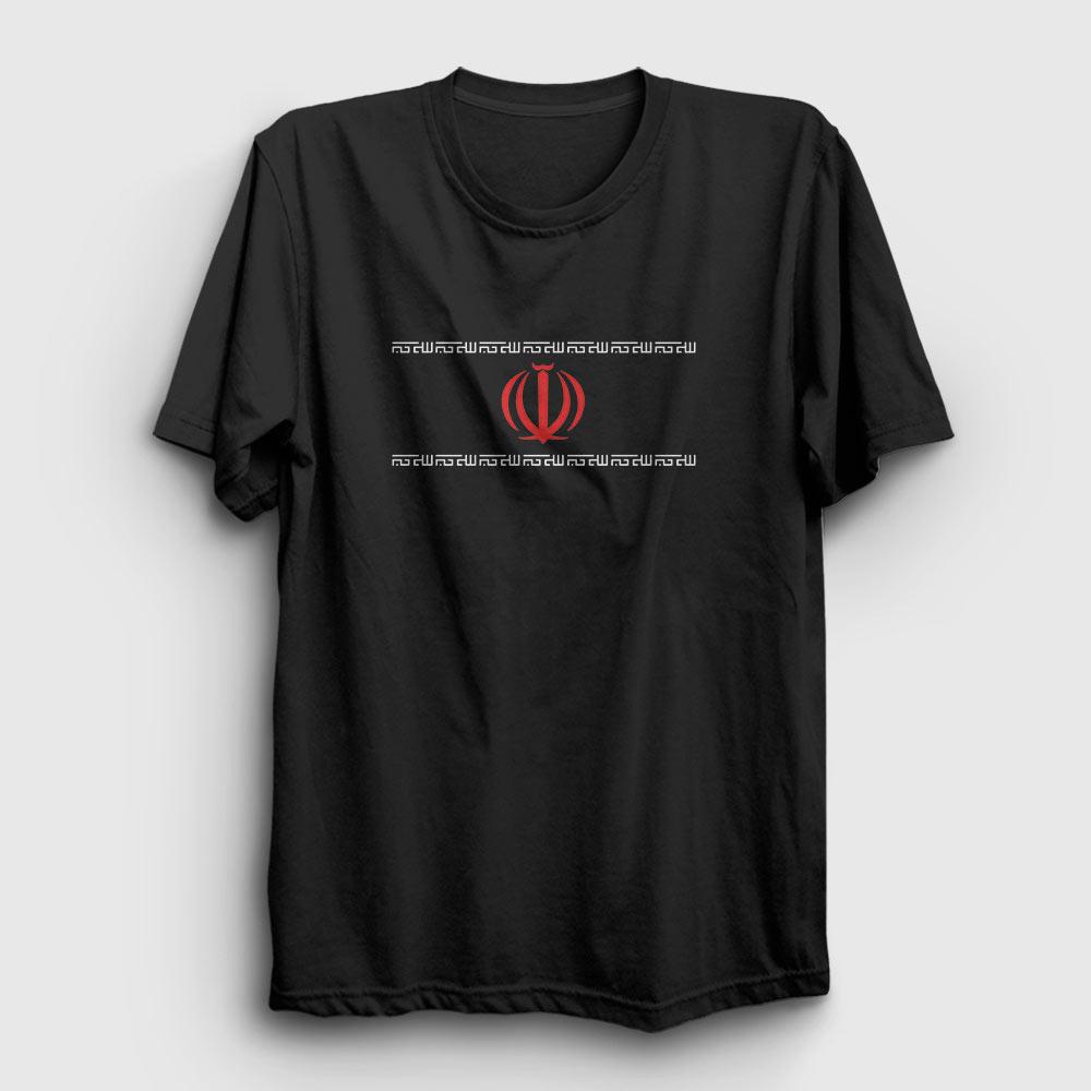 iran tişört siyah
