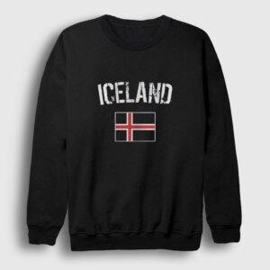 İzlanda Sweatshirt siyah