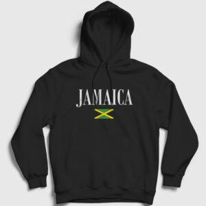 Jamaika Kapşonlu Sweatshirt siyah