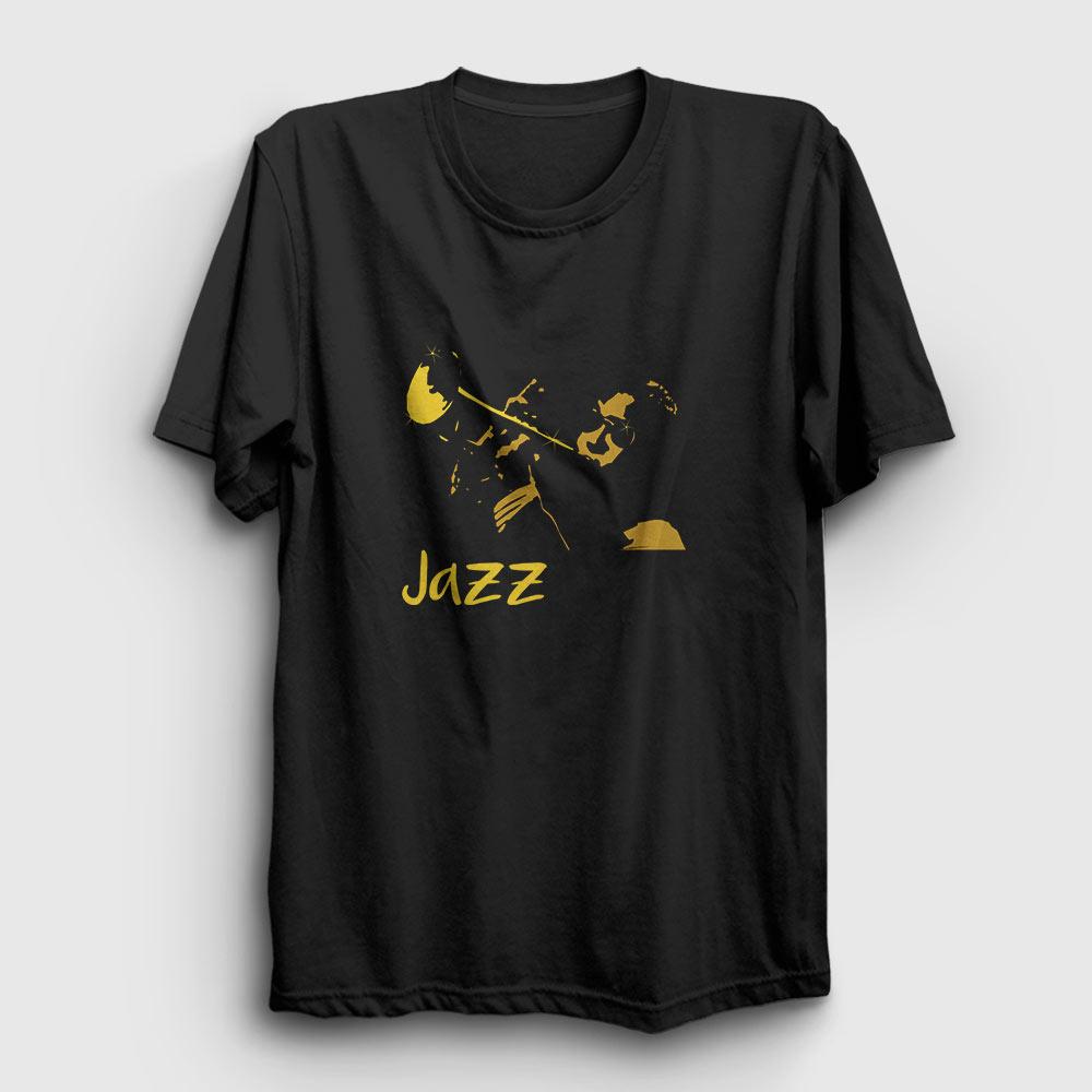 jazz tişört siyah