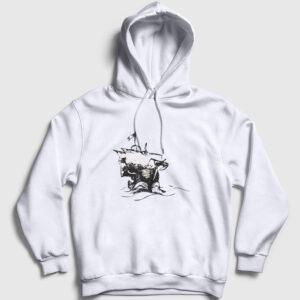 Journey Kapşonlu Sweatshirt beyaz