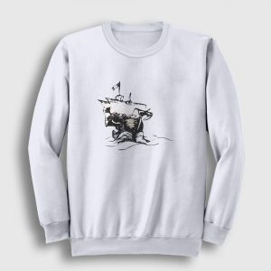 Journey Sweatshirt beyaz
