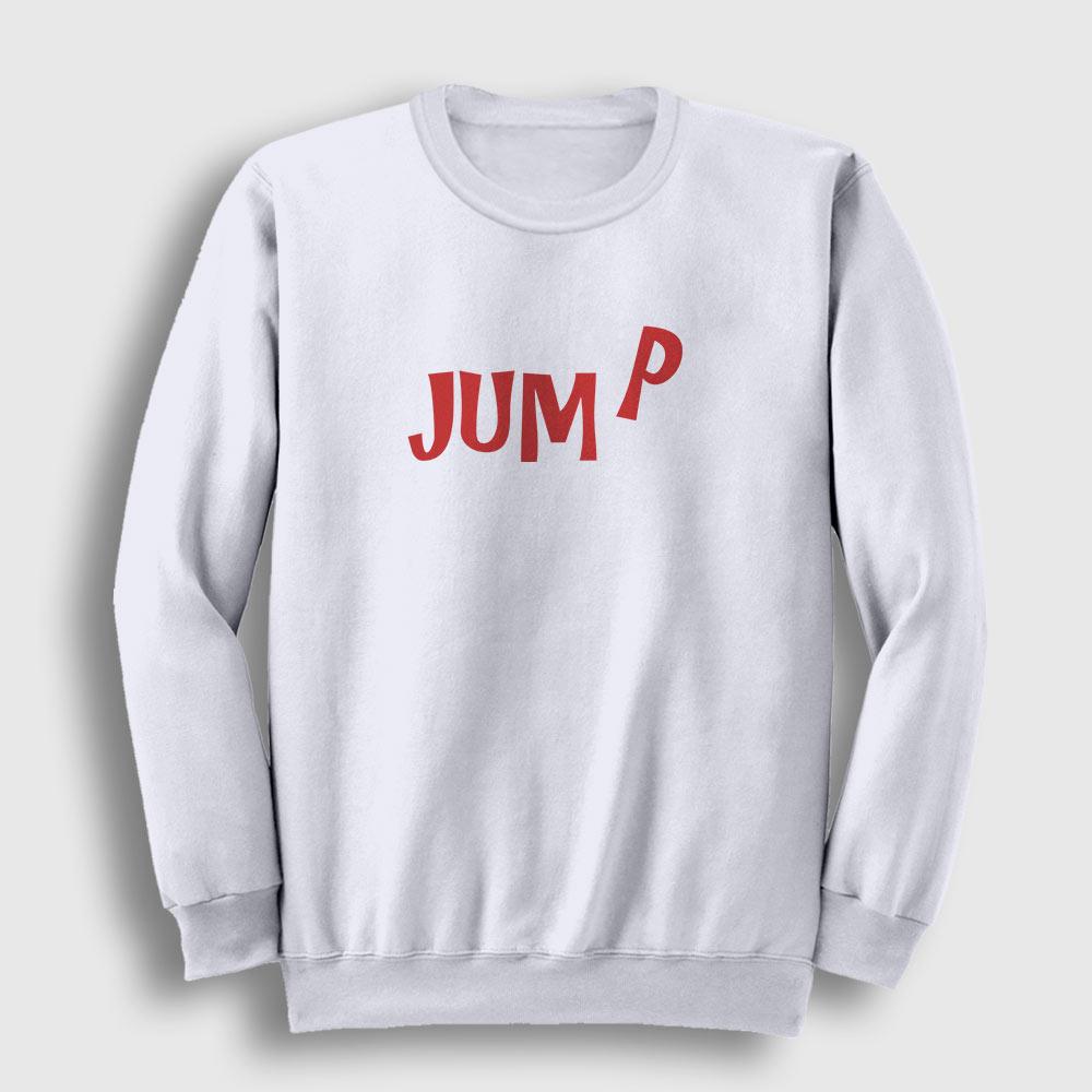 Jump Sweatshirt beyaz