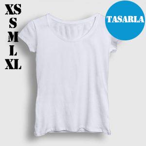 Kadın Tişört Tasarla (XS-S-M-L-XL)