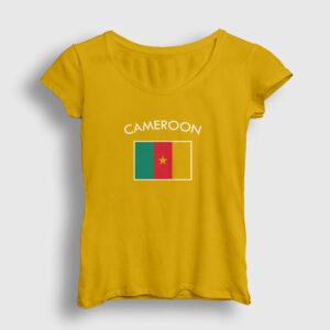 Kamerun Kadın Tişört sarı