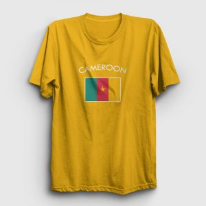 Kamerun Tişört sarı