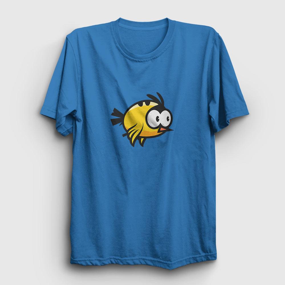 kanarya tişört açık mavi
