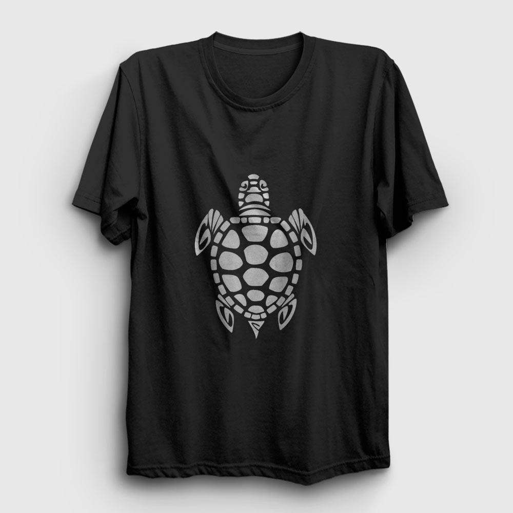 kaplumbağa tişört siyah