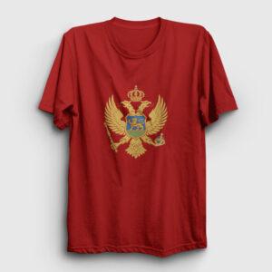 Karadağ Tişört kırmızı