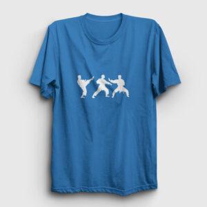 Karate Tişört açık mavi