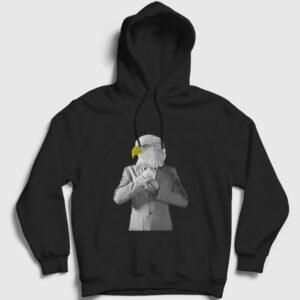 Kartal Bey Diyeceksiniz Kapşonlu Sweatshirt siyah