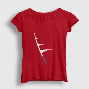 Katana Kadın Tişört kırmızı