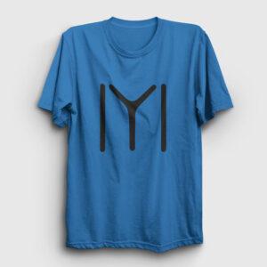 Kayı Boyu Tişört açık mavi