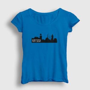 Kayseri Kadın Tişört açık mavi