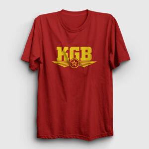 KGB Tişört kırmızı