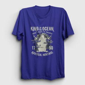 King Of The Ocean Tişört lacivert