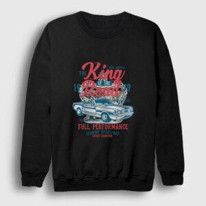 King Of The Road Sweatshirt siyah